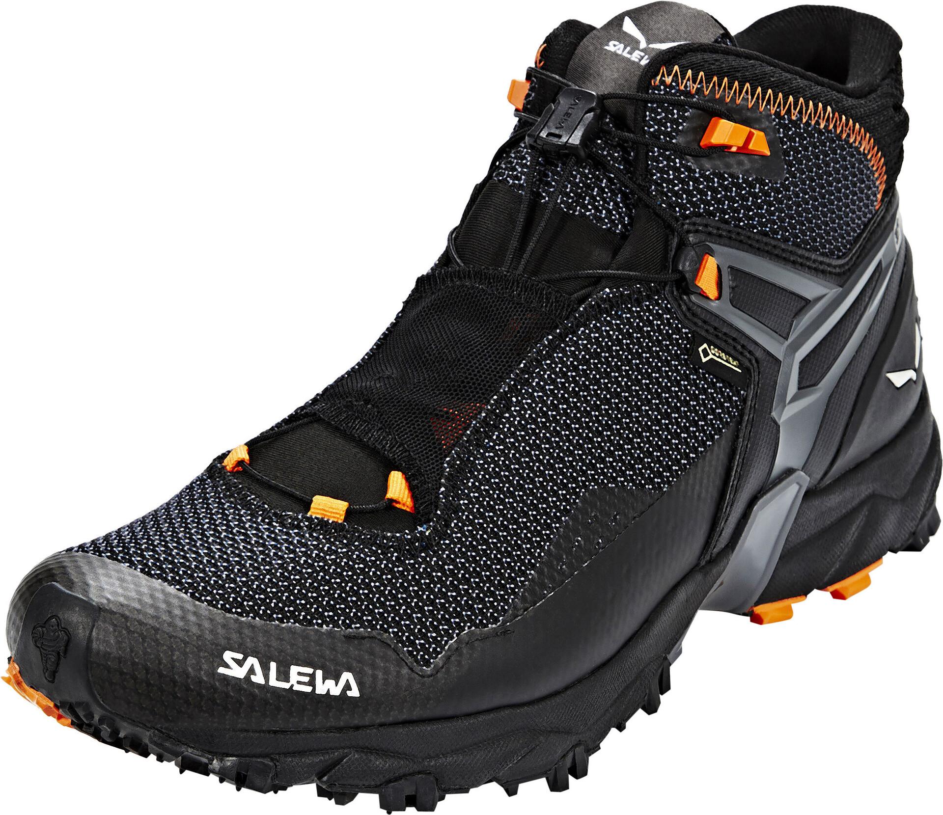 SALEWA Ultra Flex Mid GTX Scarpe da trekking Uomo, blackholland